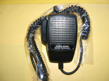 MIC FOR MOTOROLA RADIUS M110 MC MICRO 6 PIN WITH AMP TAXI RADIO VHF UHF NEW